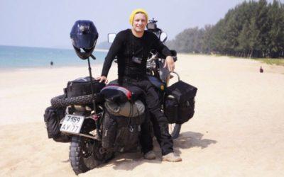 Москвич совершил кругосветное путешествие на мотоцикле