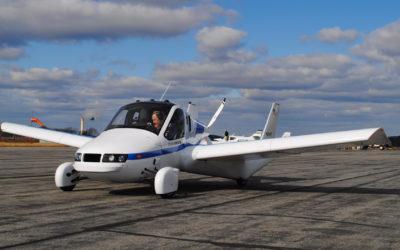 Сбор заказов на первый летающий автомобиль начнется в октябре