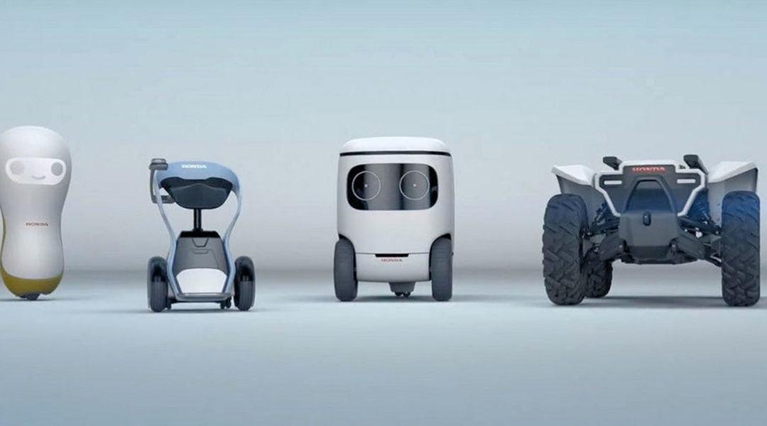 Honda представит роботизированный квадроцикл