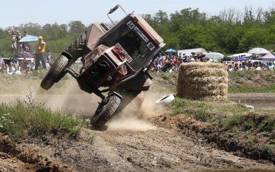 Гонки на тракторах «Бизон-Трек-Шоу» прошли под Ростовом-на-Дону