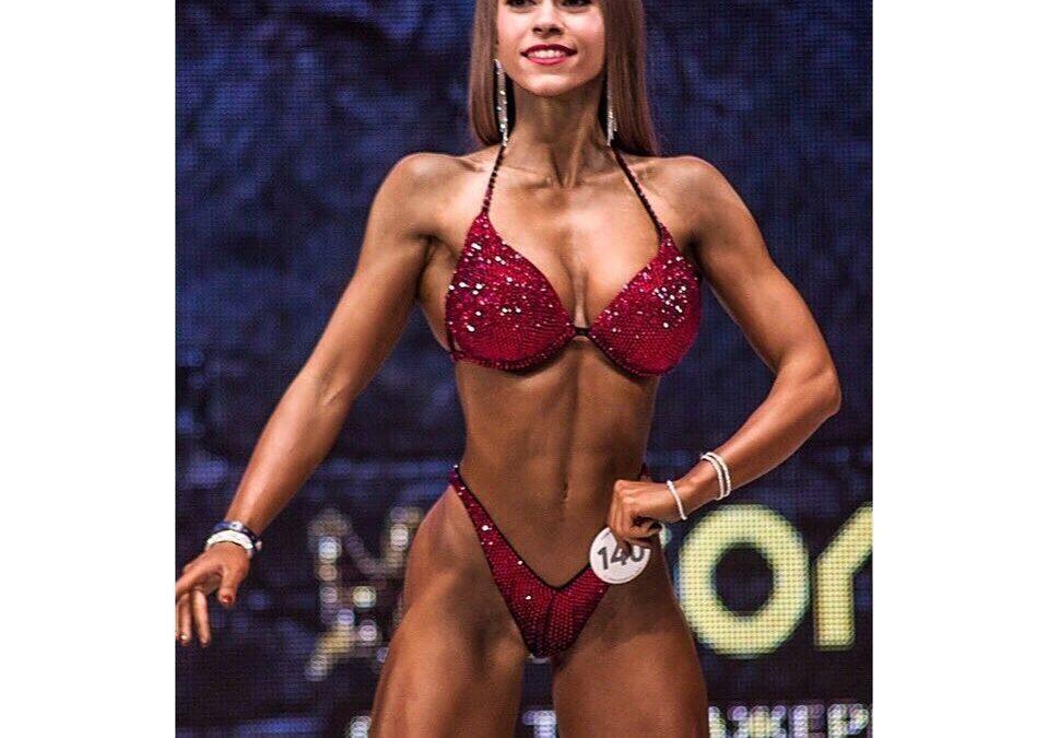 Россиянка стала второй на чемпионате Европы по фитнес-бикини