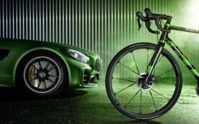 Mercedes-Benz выпустит велосипед из углеродного волокна