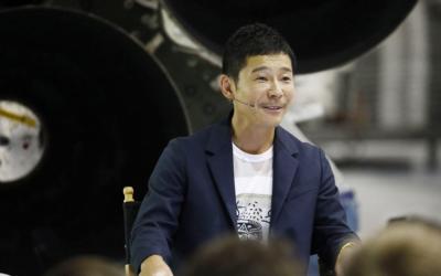 Японский миллиардер Юсаку Маэдзава – первый космический турист к Луне
