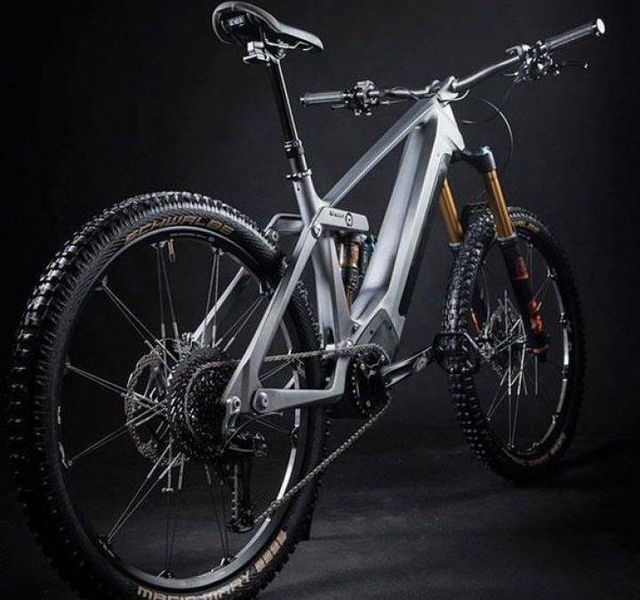 Эндуро велосипед напечатали на 3D-принтере