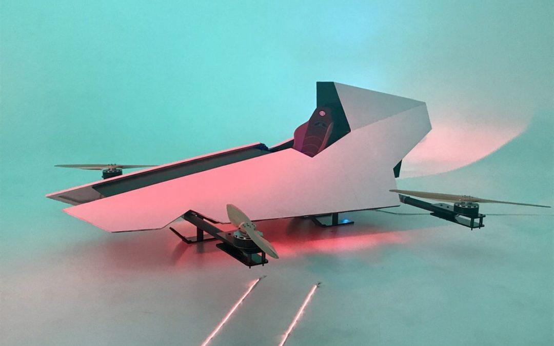 Первые в мире гонки летающих авто проведут в австралийской пустыне