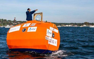 Французский путешественник Жан-Жак Савен переплыл Атлантику в бочке