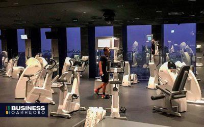 Высокотехнологичный фитнес-клуб открыли в Сколково