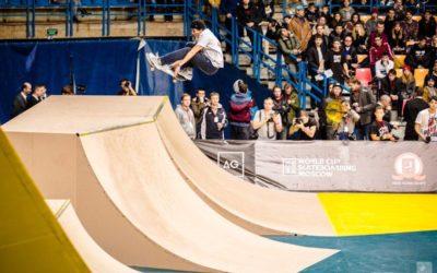 Этап Кубка мира по скейтбордингу пройдет в Москве 9 ноября
