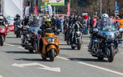 Московские мотоциклисты завершили сезон мотопробегом