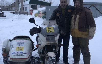Первая мотоэкспедиция за Полярный круг финишировала в Нарьян-Маре
