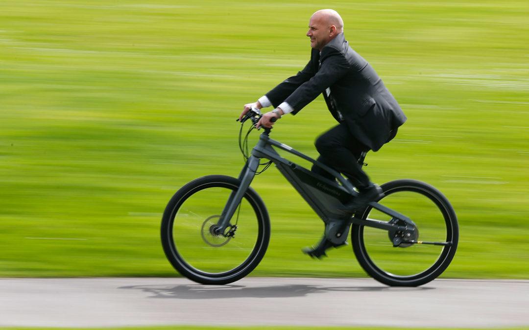 На выставке London Bike Show представили велосипед Gobike G3