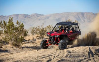 Honda представила спортивные внедорожники Talon 1000X и 1000R