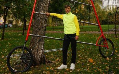 Петербуржец создал самый высокий велосипед в мире