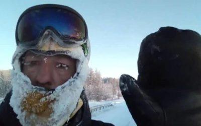 Испанский путешественник продолжил свой путь по Якутии на машине