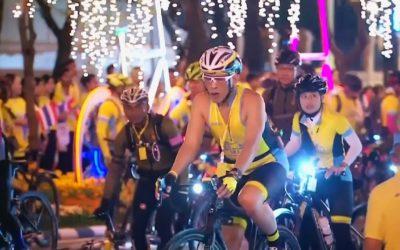 Король Таиланда принял участие в велопробеге