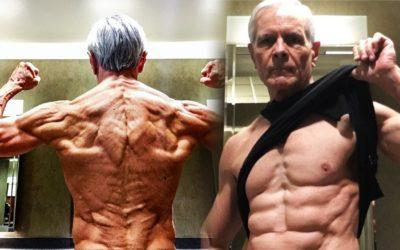 Американец стал фитнес-блогером в 67 лет