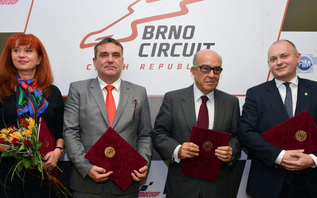 Еще пять лет MotoGP будет проходить в Брно