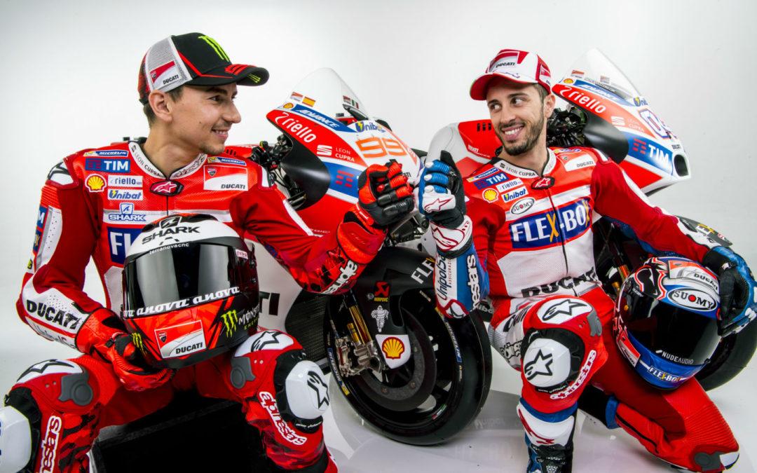Ducati представила состав команды и байк на новый сезон MotoGP