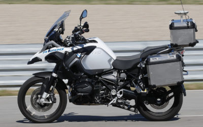 Компания BMW представила прототип беспилотного мотоцикла R 1200 GS