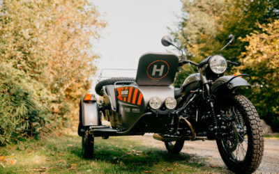 Новый мотоцикл с беспилотником Урал – «Ural Air»