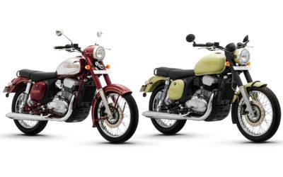Новые мотоциклы Jawa представили в Индии