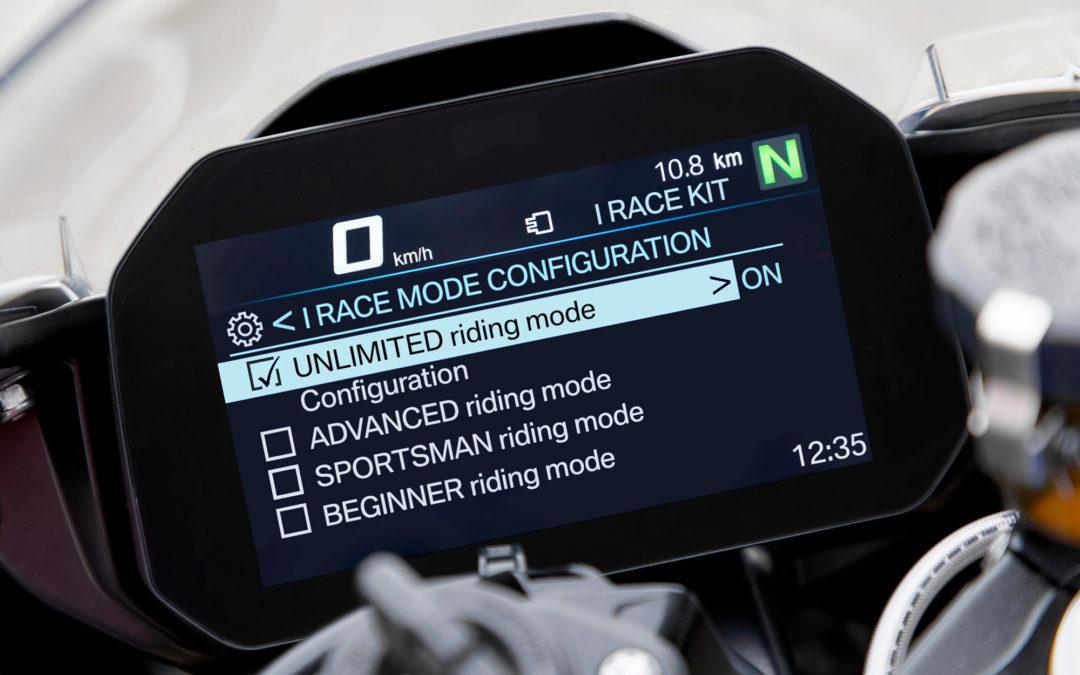 BMW представил гоночный кит iRace для S1000RR