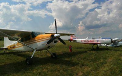 В Рыбинском районе прошел авиационный фестиваль