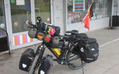 На велосипеде из Германии в Китай