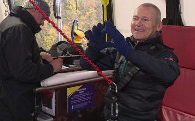 Пенсионер из Сочи устанавливает рекорды на банджи